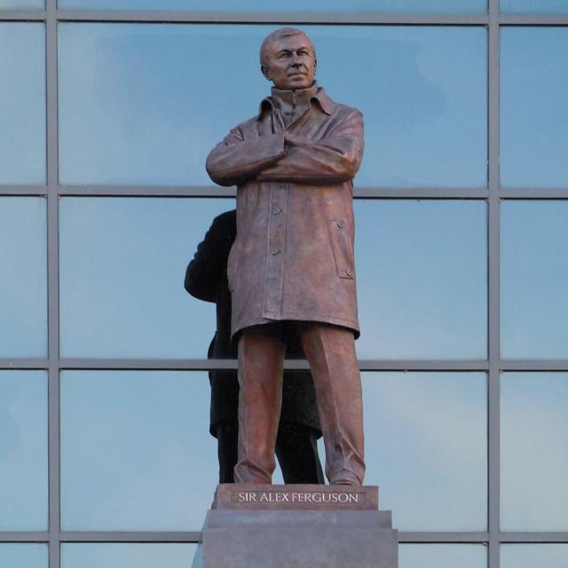 Sir Alex Ferguson Statue Old Trafford By David Dixon St