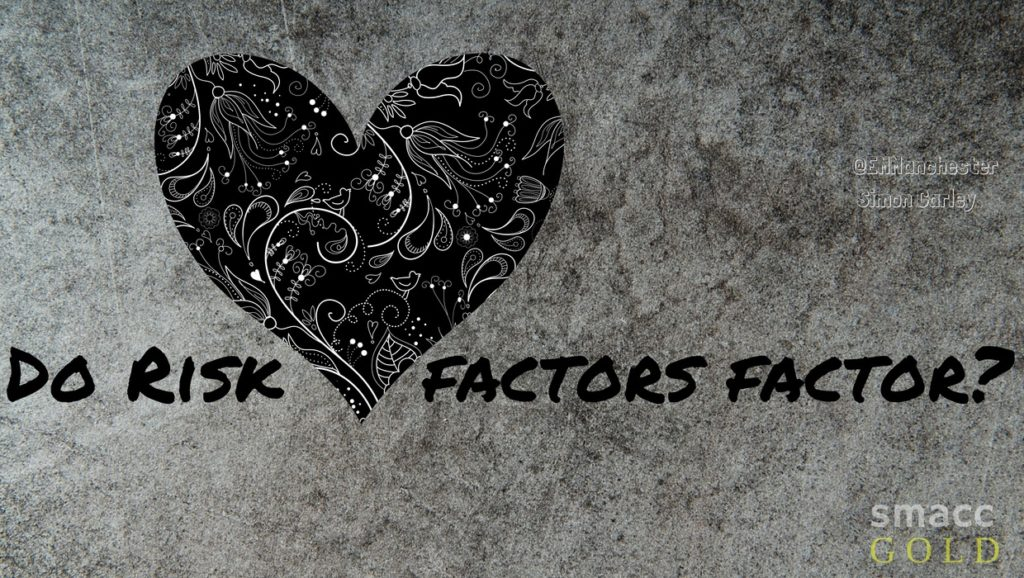 do risk factors factor