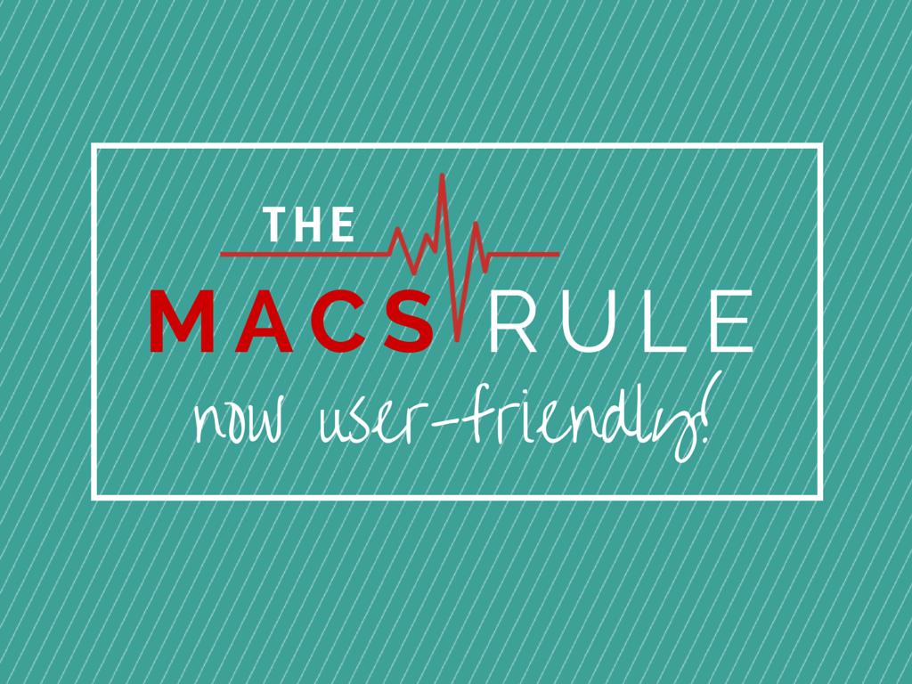MACS rule user friendly Canva