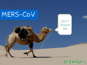 How to prepare your ED for a MERS-CoV outbreak