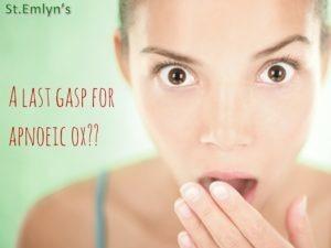 JC: The last breath for apnoeic oxygenation?