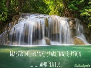 Maestrini, Frank, Starling, Guyton…….and Fluids at St.Emlyn's