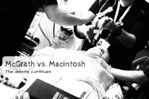 Mcgrath vs macintosh laryngoscopes